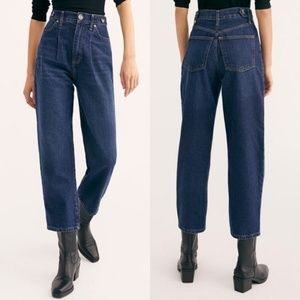 We the Free 29 high rise pleated mom jeans NWOT